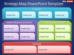 business strategy presentation template strategy map  business strategy presentation template strategy map powerpoint template