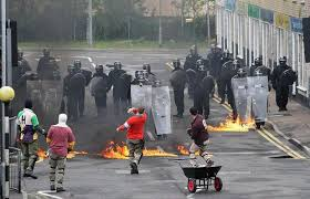 Image result for police    public        riot