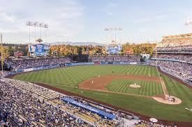 Dodger Stadium Section Reserve 9 Row A Seat 13 Los
