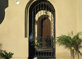 iron door works. residential iron security door works