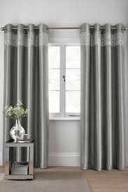 Next Living Room Curtains Buy Shimmer Band Eyelet Curtains From The Next Uk Online Shop