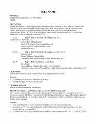Sample Nurse Educator Resume Ideas Collection Sample Nurse Educator Resume In Template Gallery 9