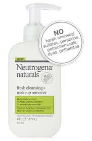 neutrogena naturals fresh cleansing makeup remover shot