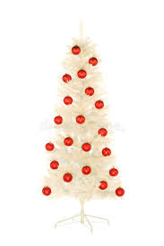 Decorating Christmas Tree With Balls Sparkling White Artificial Christmas Tree Decorated With Red Balls 62