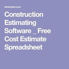 handyman estimating software free best 25 construction estimating software ideas on pinterest