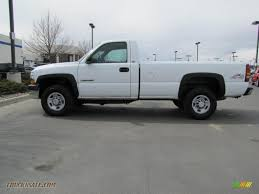 2002 Chevrolet Silverado 2500 Regular Cab 4x4 in Summit White ...