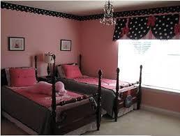 Pink & Black Girls Rooms