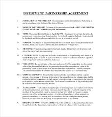 Investment Agreement Templates 14 Investment Agreement Templates Free Sample Example Format