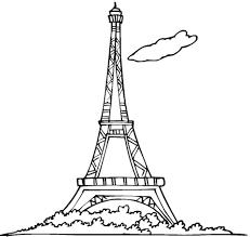 Eiffeltoren Kleurplaat Gratis Kleurplaten Printen