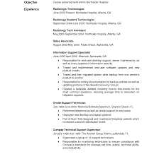 Medical Technologist Resume Sample Radiologic Technologist Resume Examples Templates X Ray Tech 79