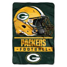nfl green bay packers sideline oversized micro raschel 62 x 90 throw blanket 1 each walmart