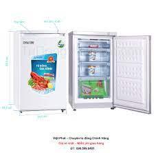 Tủ đông đứng Hòa Phát Funiki HCF 116P 100 lít 4 ngăn - Giá rẻ T12/2020