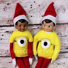 "Dream Catcher Dolls ITH Small DollElf Minion Shirt Embroidery Design 100 "" Dolls 58"