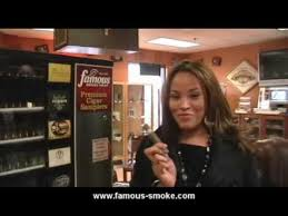 Cigar Vending Machine Mesmerizing Famous Smoke Shop Cigar Vending Machine YouTube