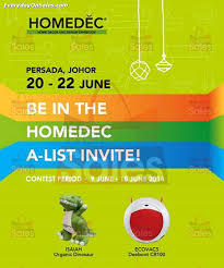 Small Picture 20 22 Jun 2014 Homedec Malaysia Home Decor Design Exhibition at