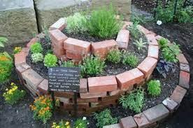 spiral herb garden california