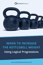 Kettlebell Pood Chart How To Increase The Kettlebell Weight Using Logical Progressions