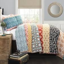 King Size Quilt & Coverlet Sets You'll Love | Wayfair & Massa Stripe 3 Piece Reversible Quilt Set Adamdwight.com