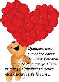 Carte De St Valentin Saint Valentin Texte Message Et Carte De Saint Valentin