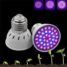 Captivating Großhandel 60/80 E27 LED Wachsen Licht 2835SMD LED Pflanze Wachsen Licht  Lampe 52Red + 28 Blue Hydroponic Pflanzen Blumen Gemüse Gewächshaus Hydro  LED ...