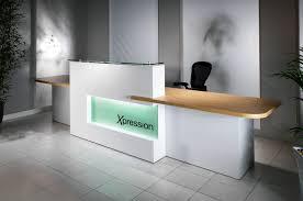 office front desk design. Decoration: Front Desk Design Awesome Unique Office Impress Your Clients Ideas Showcase With Regard To