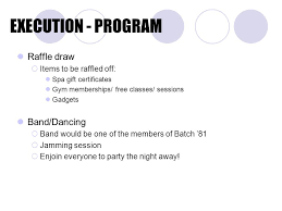 raffle draw application staying alive a don bosco homecoming sponsored by batch ppt download
