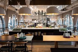 Google office cafeteria Inside Google Berlin 9to5google Sundar Pichai Opens New Google Berlin Office With Youtube Space