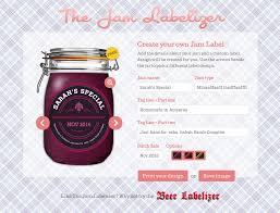 Label Design Free Jam Preserve Jar Labels Custom Designs Jam Labelizer