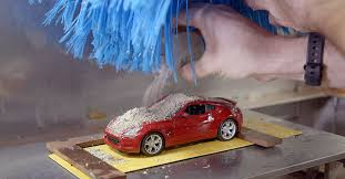 Miniature Nissan Car Wash Means Better Paint Worry Free Washing