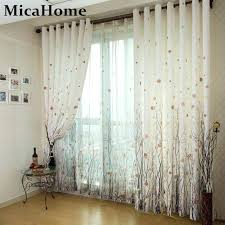 tree of life simple and modern high end living room bedroom window curtain den curtains rabbit hollow tree of life folk lace curtains