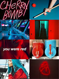 Neon Red Blue Aesthetic (Page 1) - Line ...