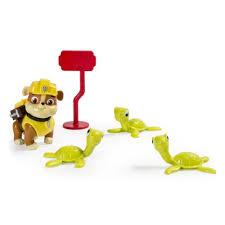 <b>Игровой</b> набор Paw Patrol <b>Фигурка</b> спасателя с питомцем Rubble ...