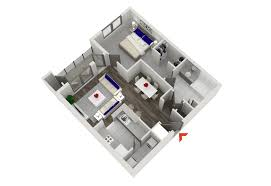 Small 2 Bedroom Apartment One Bedrooms 3d Bedroom Apartment Plans Further Small 1 For