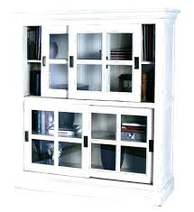 sliding door ideas interior barrister bookcase glass panel sliding doors 3 enclosed shelves are he for bookcase with sliding doors ideas interior interior