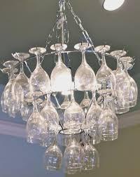 wine bottle chandelier kit