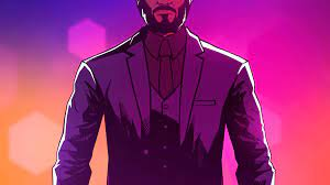 John Wick Cartoon Wallpapers ...