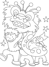 Small Picture Printable Chinese New Year Coloring Pages Coloring Me