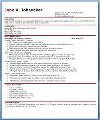 Gallery Of Babysitter Resume Example Creative Resume Design