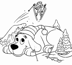 Cliford coloring pages 7