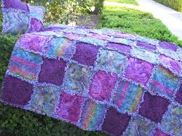 Best 25+ Rag quilt purple ideas on Pinterest | Baby rag quilts ... & Rag Quilt for Sale, Rag Quilt, Purple Rain, Lap Quilt & Pillow Set, Blanket  Throw, Unique Gift, Handmade, Approx 54
