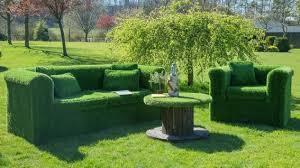 unusual garden furniture. furniture set made of grass unusual garden r