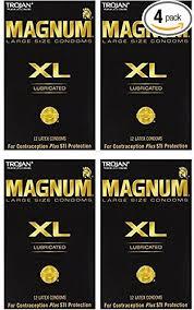 magnum xl size amazon com trojan magnum xl lubricated condoms 12 pc health
