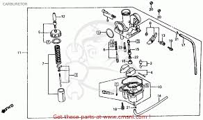 honda 185 200s carb adjustment