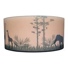 Plafondlamp Kinderkamer Silhouette Safari Camel Kinderkamer Lampen