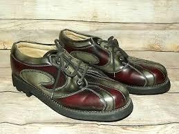 John Fluevog Size Chart John Fluevog Classic Angel Gibson Gray Burgundy Leather