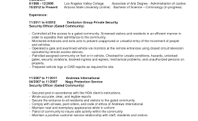 resume gripping security guard resume format in word lovable