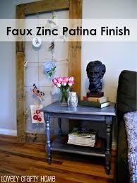 Zinc Finish Furniture Rachael And Restoration The Zinc Collection