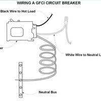 gfci breaker wiring schematic gfci image wiring how to wire a gfci circuit breaker ehow on gfci breaker wiring schematic