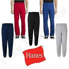 Hanes Men Fleece Sweatpants W Pockets Comfortsoft Ecosmart