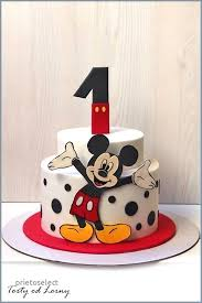 Mickey Mouse First Birthday Cake 11 Cakes For Boys Photo First
